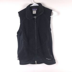 Patagonia R2 Black Vest Size Small